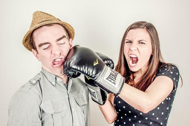 dispute avec son homme