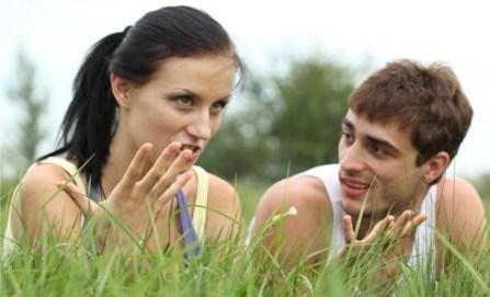 Rassurer son homme sur l'amour que vous lui portez